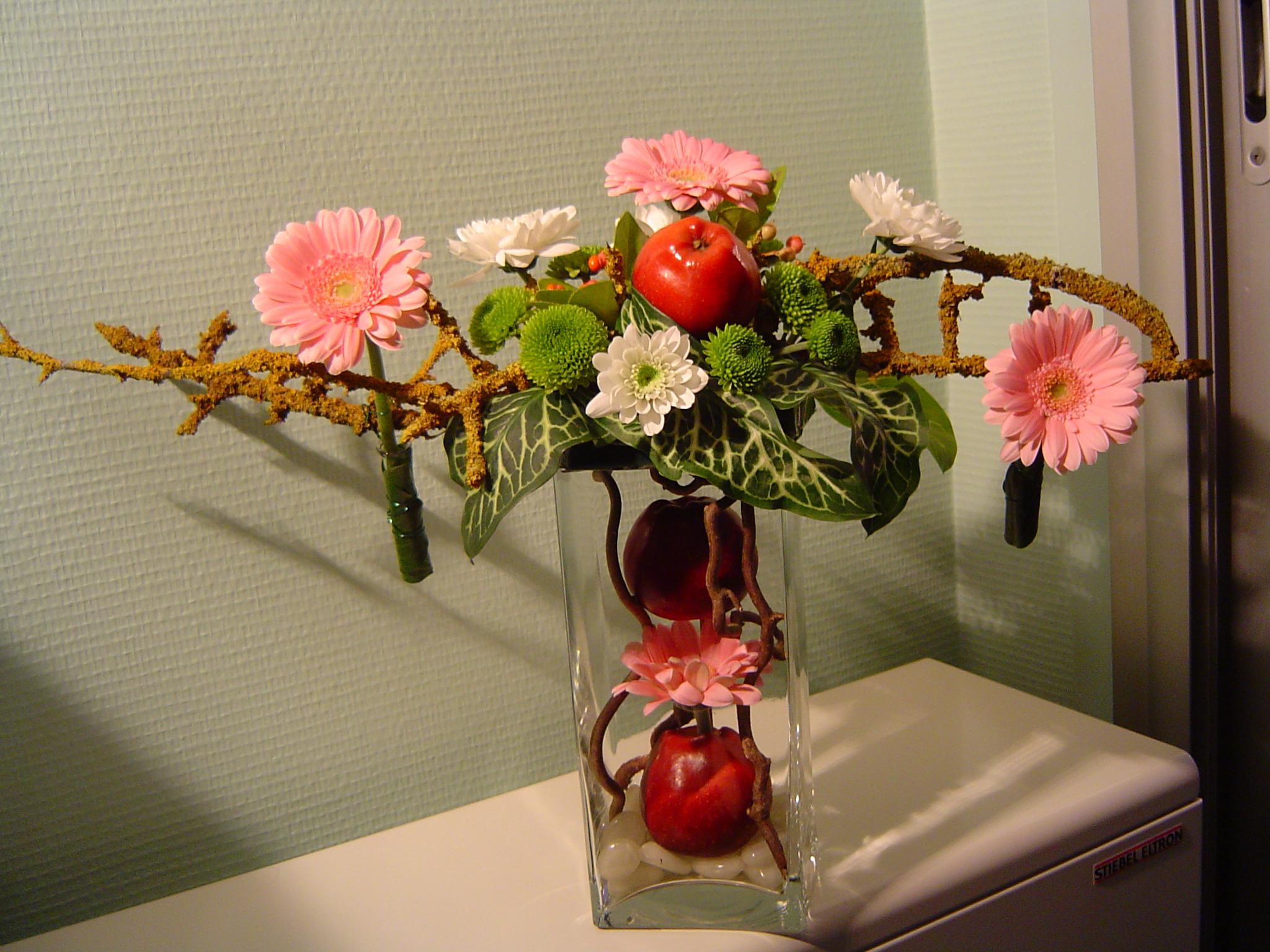 Rosarum art floral - Composition florale automne ...